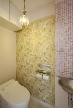 トイレ、カラー、モザイクタイル、クロス、株式会社 アレックス