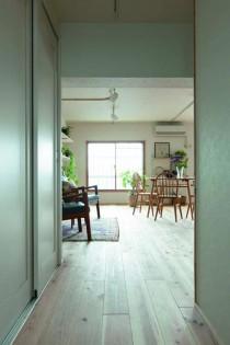 玄関、収納、エントランス、バリアフリー、土間、積水化学マルリノ