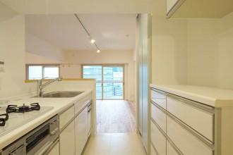 キッチン、対面、回遊、動線、積水化学マルリノ
