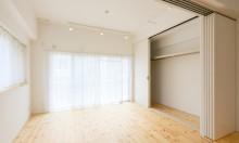 壁収納、全面、クローゼット、間仕切り、スライド扉、リノまま、renomama