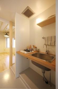 キッチン、造作、オリジナル、Tsudou Design Studio、ツドウデザインスタジオ