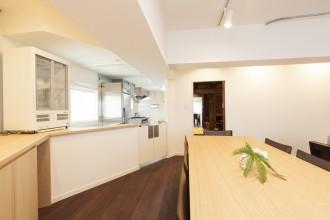 厨房、会議室、リノベーション東京
