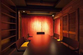 会議室、調光器、リノベーション東京