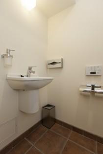 手洗い場、トイレ、タイル、床、リノベーション東京