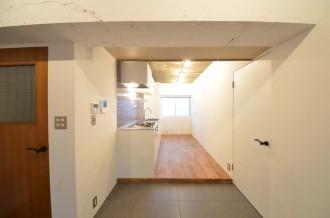 造作キッチン、土間、タイル、コンクリート、Style-J、住環境ジャパン