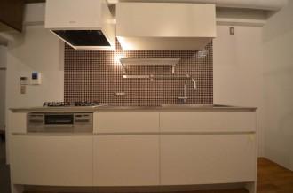 キッチンタイル、モザイク、I型、収納、Style-J、住環境ジャパン