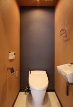 トイレ、タンクレス、壁、クロス、アレックス