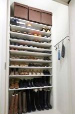 玄関、収納、靴、シューズボックス、リノまま