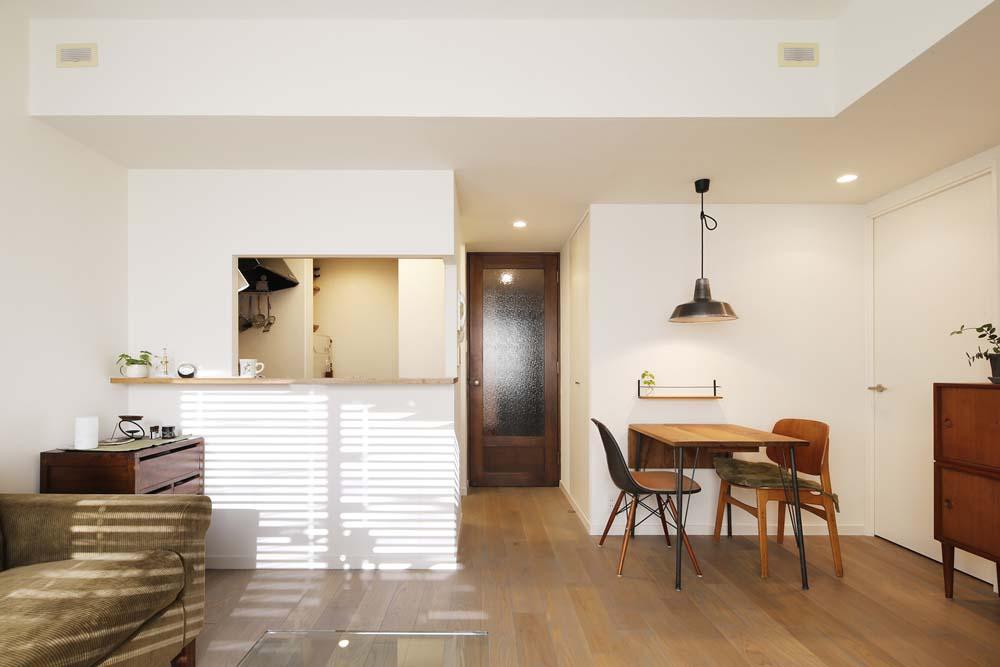 床暖房、オーク、三層、無垢材、自然素材、スタイル工房