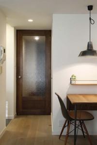 三層、フローリング、塗装、ガラス、ドア、スタイル工房