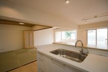キッチン、LDK、和室、和モダン、眺望、リノベーション東京