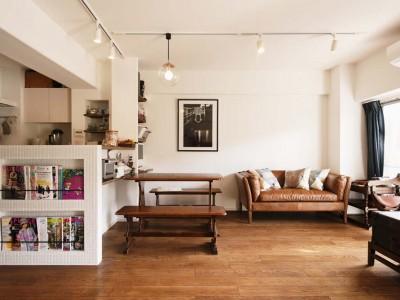 「スタイル工房」のリノベーション事例「憧れのパリ・アパルトマンを再現-収納計画の優れたおうち-」