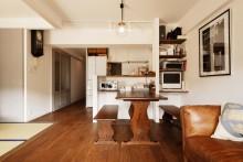 セパレート、Ⅱ型、キッチン、カウンター、ワークスペース、スタイル工房