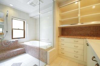 お風呂、バスルーム、洗面、脱衣所、ガラスドア、すむ図鑑