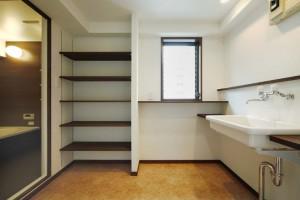 洗面、脱衣所、収納、浴室、すむ図鑑