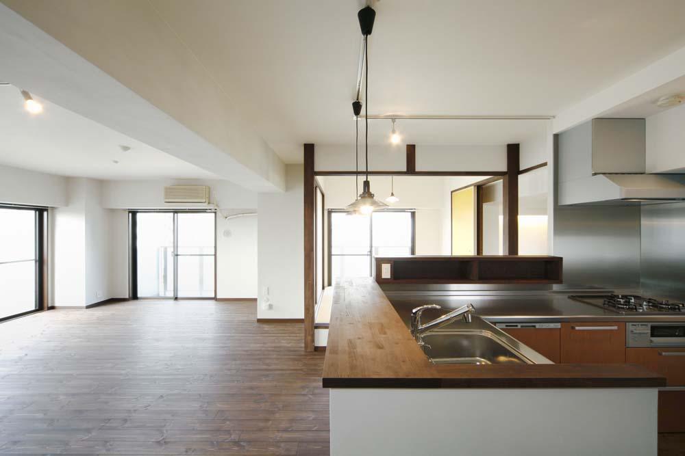 「One's Life ホーム」のリノベーション事例「堀ごたつ付きの和室を囲いながらの小料理屋ホームパーティ」
