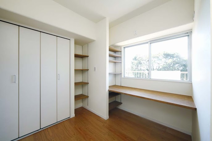 収納、棚、設計、カウンター、すむ図鑑