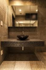 洗面、浴室、タイル、床、壁、QUALIA、クオリア