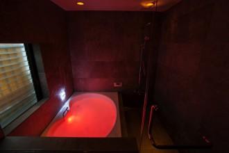 浴室、水中照明、7色、バスルーム、QUALIA、クオリア