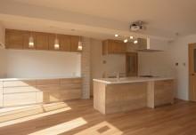 キッチン収納、カップボード、タイル壁、ロクサ・rokusa