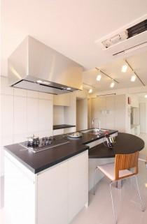 キッチン収納、台所、収納、使い勝手、ダイニング、アレックス