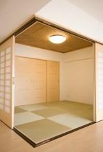 畳、和室、襖、モダン、和風、リノベーション東京