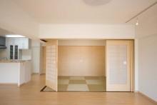 和モダン、間仕切り、ドア、リノベーション東京