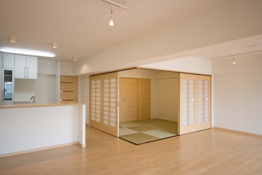 「リノベーション東京」のリノベーション事例「白金「三光坂」ヴィンテージマンションの再生リフォーム」