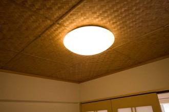 和室、網代貼、畳、照明、リノベーション東京