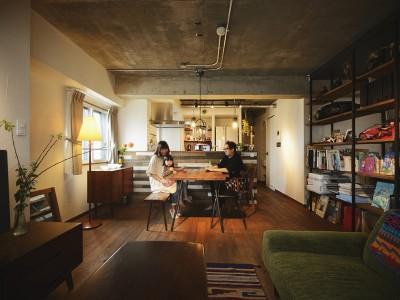 「LOHAS studio」のリノベーション事例「「中古購入+リノベーション」で自分好みにデザインしたこだわりの家」