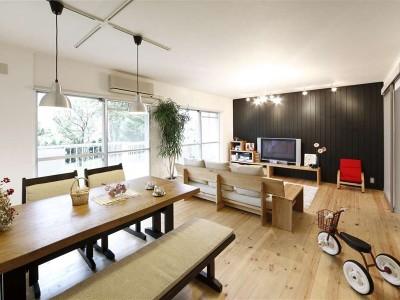 「LOHAS studio」のリノベーション事例「新しい世代の〜Spicy Cafe Home」