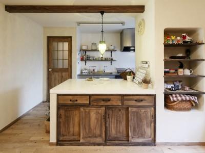 「LOHAS studio」のリノベーション事例「ホームパーティーが叶う家」