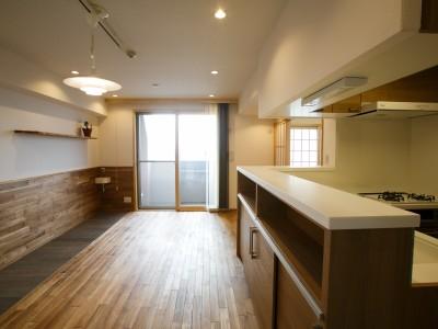 「株式会社駿河屋」のリノベーション事例「大好きなワンちゃんと暮らす。自然素材と防音・断熱の家」