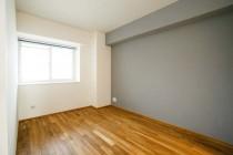 アクセントクロス、壁塗装、子供部屋、ナラ、無垢、駿河屋