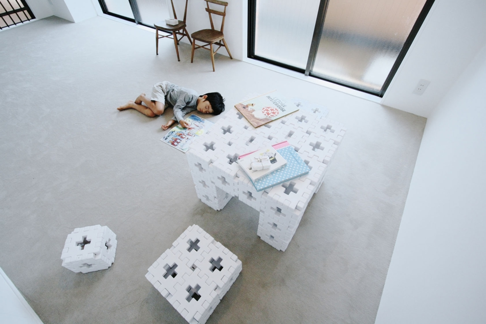 カーペット、床、キッズスペース、子供部屋、マンション、ナイン、9