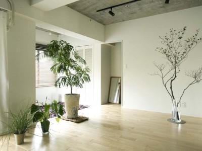 「Howzlife(ハウズライフ)」のマンションリノベーション事例「家族の気配を感じる伸びやかな空間」