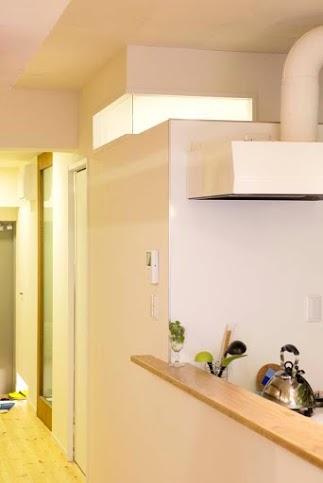カウンター、キッチン、配管、躯体、スタイル工房