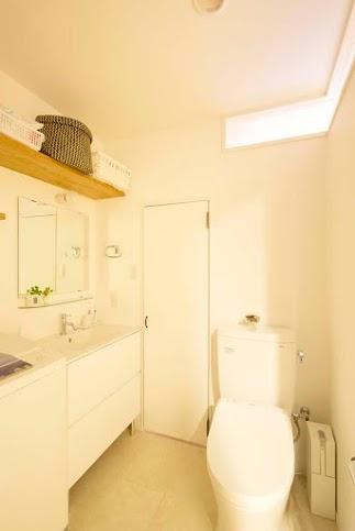 トイレ、手洗い、洗面、コーナー窓、スタイル工房