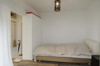 寝室、ベッドスペース、玄関収納、スタイル工房