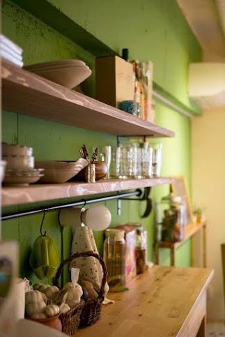食器棚、飾り棚、アッシュフリー、板、キッチン、スタイル工房