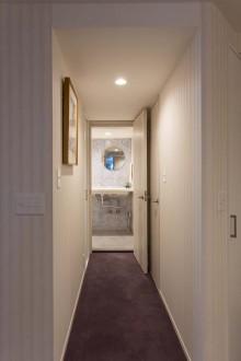玄関、水廻り、洗面、トイレ、リノベーション、D-LINE、ディーライン