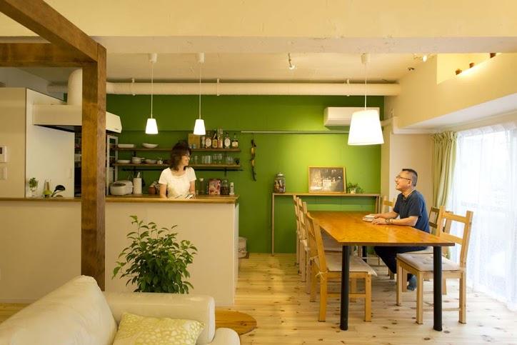 「スタイル工房」のリノベーション事例「明るい光に包まれるリビングがある家」