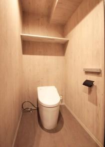 トイレ、造作棚、回遊、動線、リノステージ