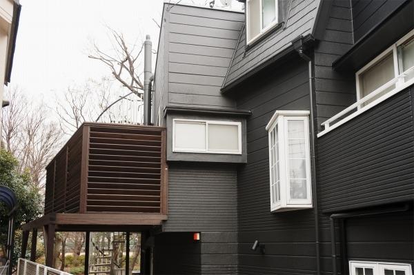 外壁、外観、窓枠、ウッドデッキ、フェンス、ルーバー、スタイル工房
