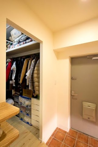 WIC、パイン、床、玄関、スタイル工房