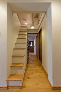 ロフト、階段、グラデン、GLLADEN
