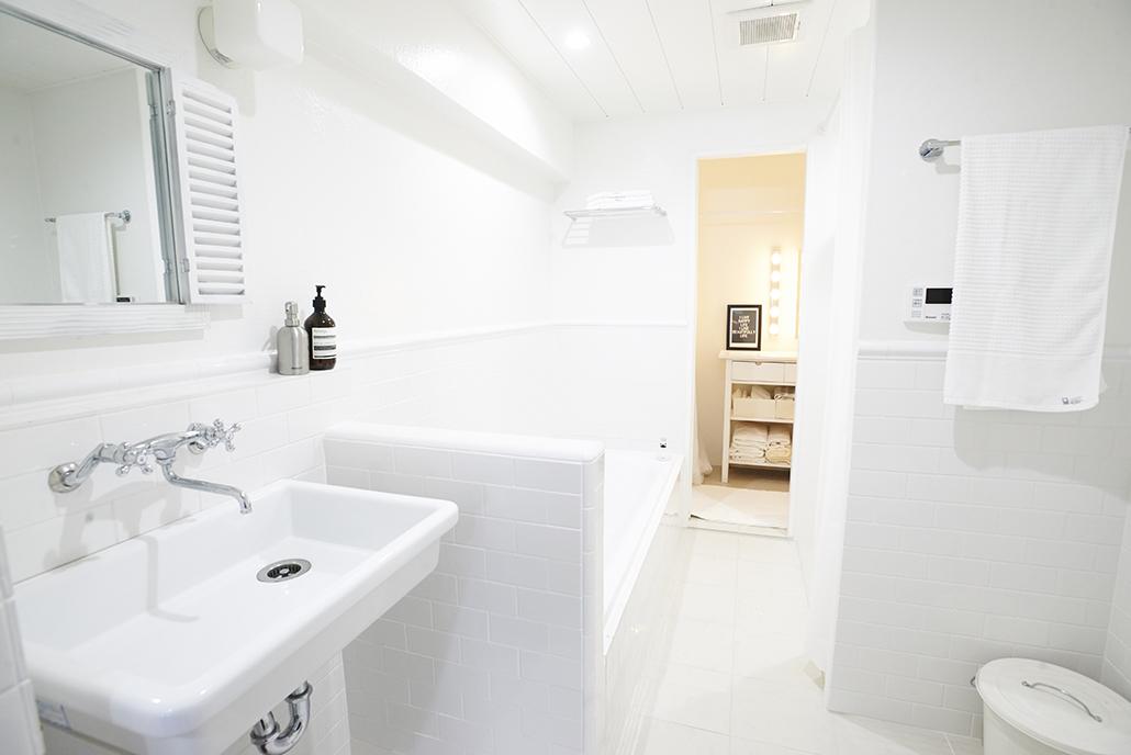 浴室、タイル、壁、床、サブウェイタイル、リノまま、renomama