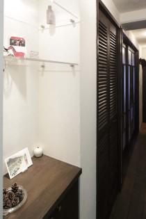 玄関、ニッチ、壁、収納、靴箱、横田満康建築研究所