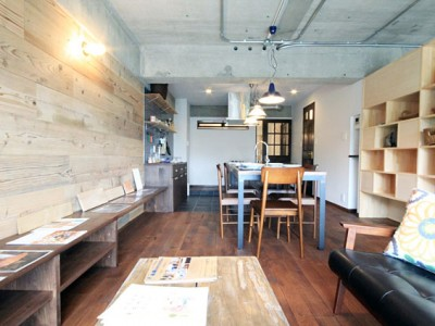 「アズ建設」のリノベーション事例「魅せる収納空間のマンションリノベーション」