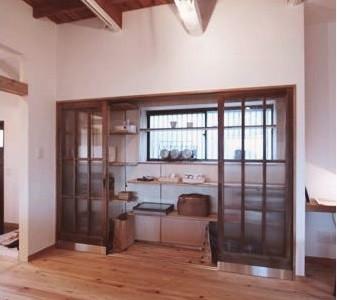 ガラス、建具、間口、引き戸、戸建、リノベーション、総合建築職人会